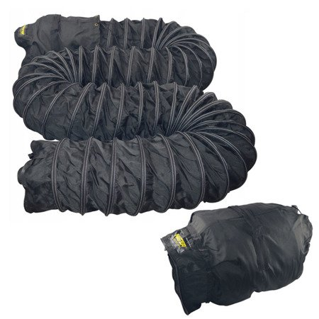 Giętkie przewody czarne + torba 7,6 m, 410 mm Master, 4515.361