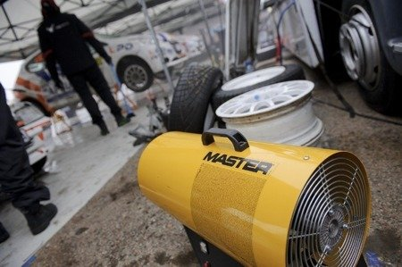 Nagrzewnica gazowa Master BLP 17M DC