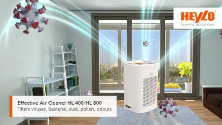 Oczyszczacz powietrza HEYLO HL 400 PLUS
